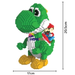 2000pcs 9020 Yoshi Mini Blocks Big Size Model