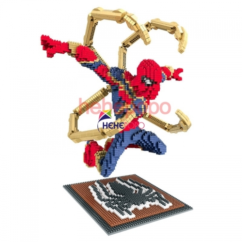 3280pcs+ Spiderman Big Size Building Block