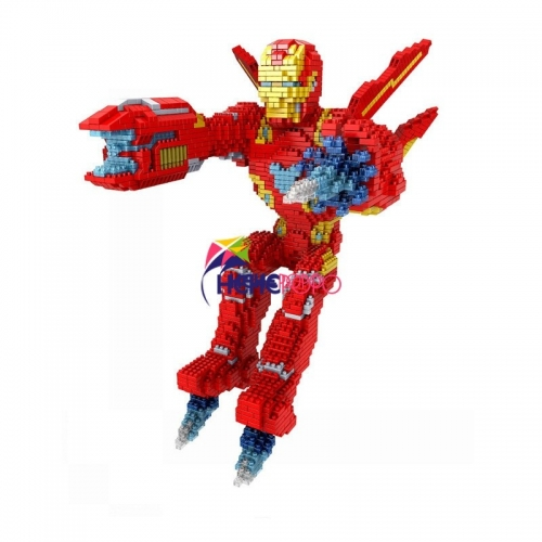 3250pcs+ Ironman Big Size Building Block