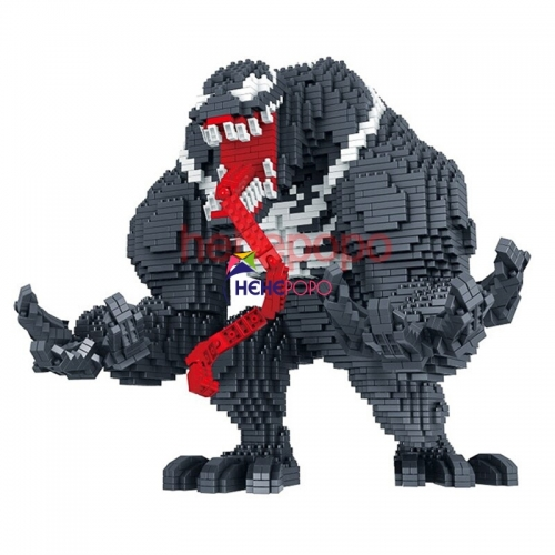 3910pcs Venom BLOCK Big Size Hero Model